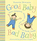 good baby bad baby, books, picture book, book cover, children's book, picture book cover, Nanette Newman, Jonathan Langley