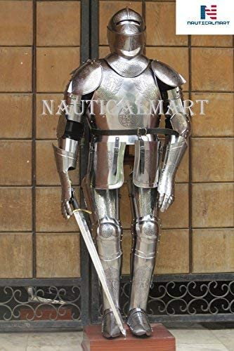 All items in the store NauticalMart Medieval Etched Spanish Knight Suit Armor Wearab of Opening large release sale