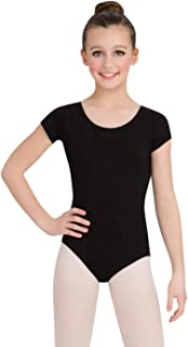Capezio Big Girls' Classic Short Sleeve Leotard
