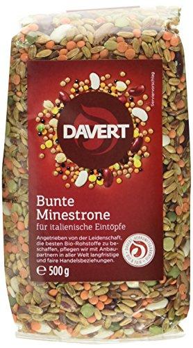 Davert Bunte Minestrone, 4er Pack (4 x 500 g) - Bio