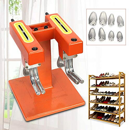 Shoe Stretcher Expander Machine, Shoe Stretching Machine Two Expansion Shoe Care Repair Tool with Two Heads for Cobbler Shoemaker & Office Use - US Shipping