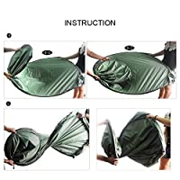 Hi Suyi 6 FT Portable Privacy Outdoor Pop Up Change Tent Room Camping Shower Toilet Shelter Beach Park