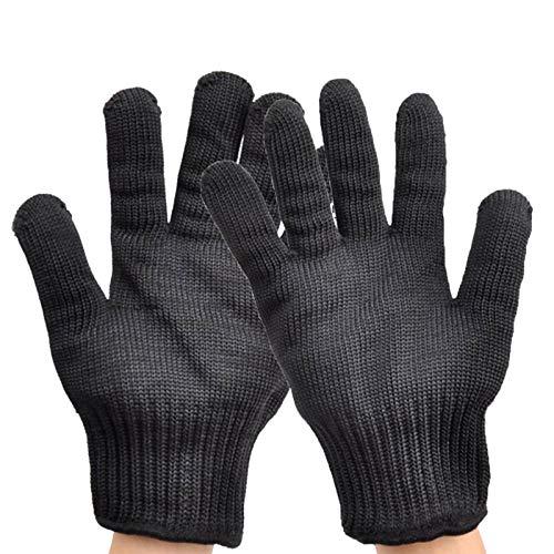 Schnittfeste Handschuhe 2 Stücke Cut Cut Resistant Handschuhe, Edelstahl-Mesh-Drahthandschuhe, Cut-resistente Metzgerhandschuhe, Hochleistungsschutz Für Küchenschneiden