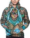 Blue Oyster Cult Fire of Unknown Origin Hooded Shirt Sports Men's Hoodie Sweatshirt Jacket Hoodies Sweater,Black,X-Large