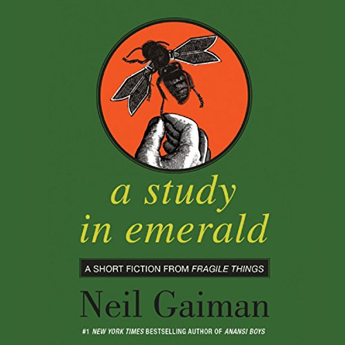 A Study in Emerald audiobook cover art