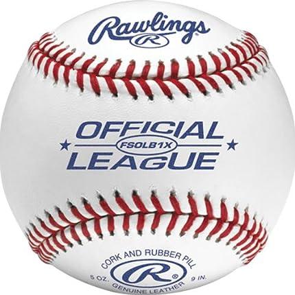 Rawlings Fsolb1x Flat Seam Practice Baseball 12 Ball Pack