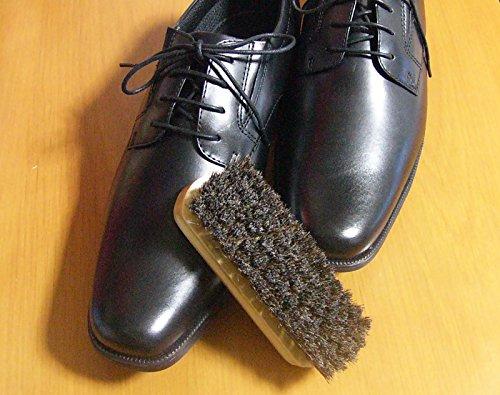 [アイ・フィット]《ブラッシングで美しく》靴磨き馬毛100%ブラシ