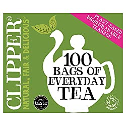 A deliciously refreshing, rich and full-bodied blend of teas from the finest organic estates in India, East Africa & Sri Lanka. Unbleached bags of Fairtrade & Organic tea Clipper products are made with pure ingredients and a clear conscience. We only...