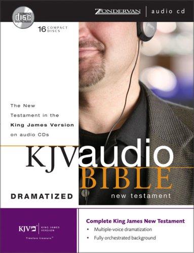 KJV Audio Bible New Testament Dramatized Cd