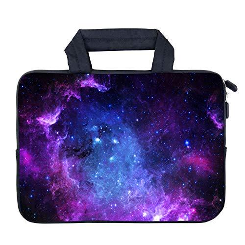 AMARY Laptoptasche für 29,5 cm (11,6 Zoll) 30,5 cm (12,1 Zoll) 12,5 Zoll Laptops, Neopren, Chromebook, Ultrabook Hülle, Tablet-Hülle, passend für Apple MacBook Air HP Dell Lenovo Asus Samsung Sterne