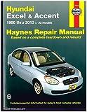 H43015 Hyundai Excel Accent 1986-2013 Haynes Auto Repair Service Manual