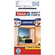 Tesa Mosquito, Fly And Insect Screen For Inward Opening Windows 1.7 M X 1.8 M (max) Anthracite