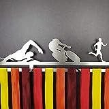 Zoom IMG-1 triathlon medagliere da parete maschile