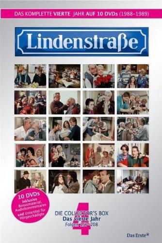 Lindenstraße - Das komplette 4. Jahr (Folge 157-208) (Collector's Box, 10 DVDs)