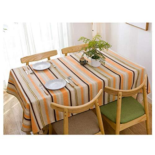 YSJYYHP Manteles Rectangular Antimanchas,120x250cm Mantel de Algodón y Lino, Lavable Manteles para Bodas Fiesta Buffet Navidad Cumpleaños Restaurante