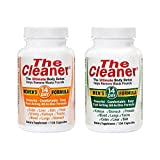 The Cleaner 14 Day Women's and 14 Day Men's Ultimate Body Detox, 104 Capsules Each