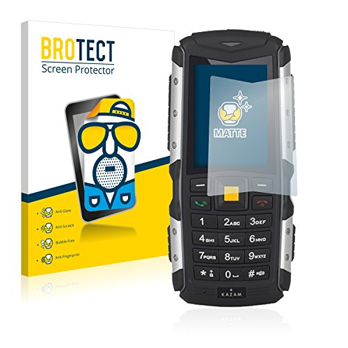 BROTECT 2X Entspiegelungs-Schutzfolie kompatibel mit Kazam Life R5 Bildschirmschutz-Folie Matt, Anti-Reflex, Anti-Fingerprint