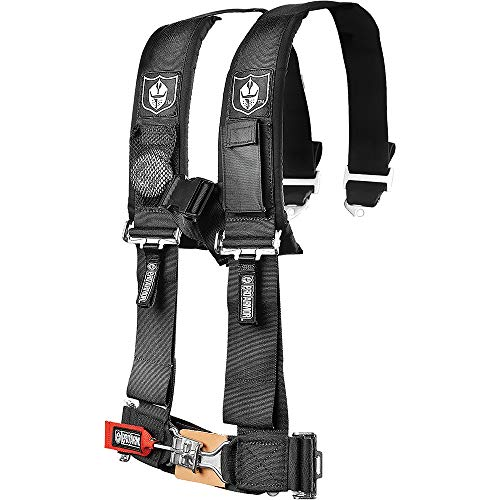 Pro Armor A114220 Black 4-Point Harness