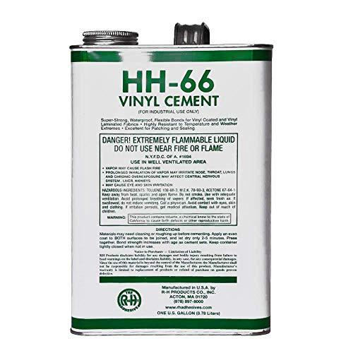 RH Adhesives HH-66 Vinyl Cement, 1 Gallon