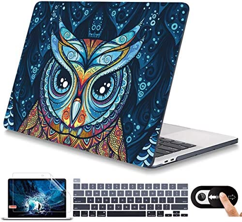 Mektron Plastic Hard Shell Cover for MacBook Pro 13 inch 2020 Case M1 A2338 A2289 A2251 with product image