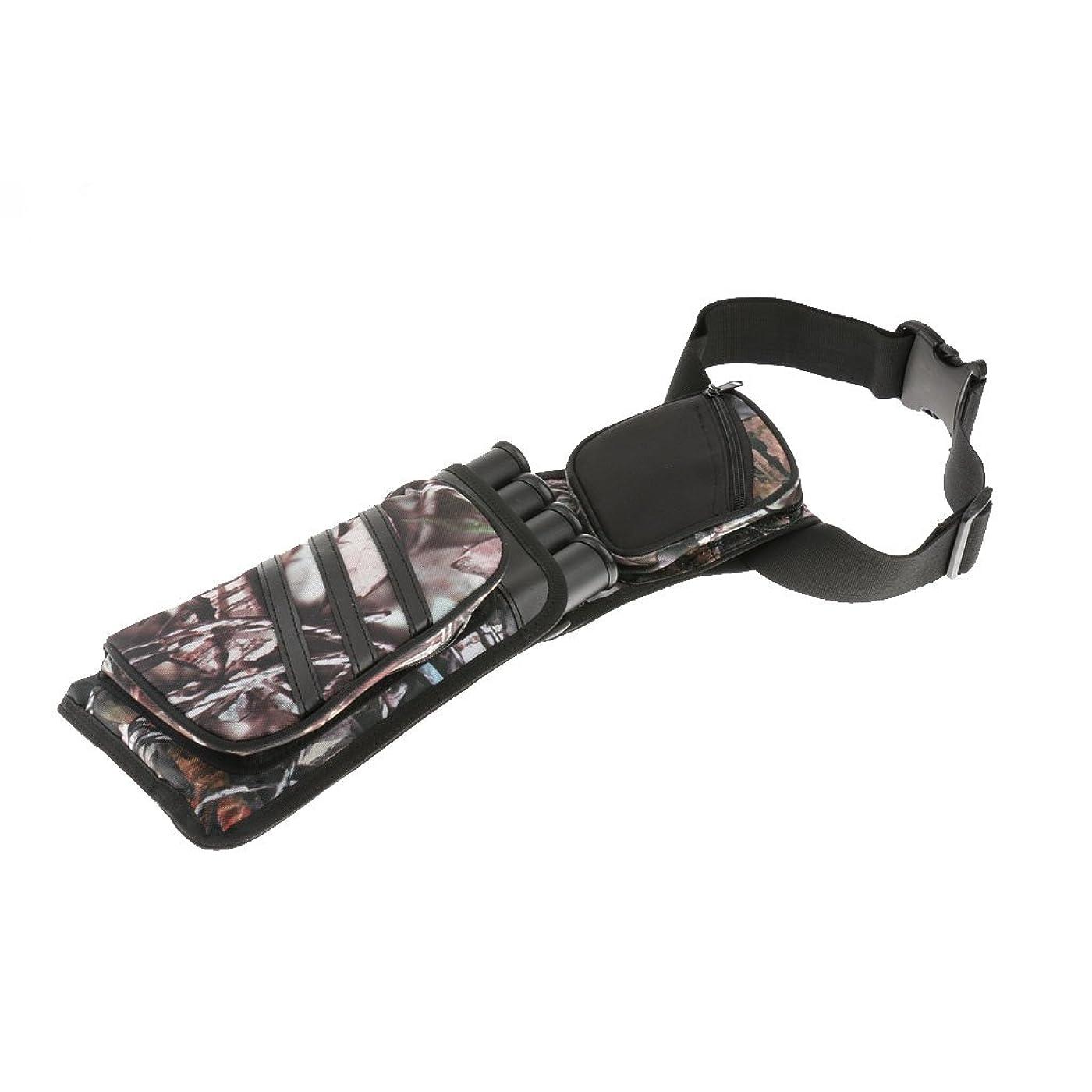 カウント軽蔑収まるKOZEEY4 チューブ 伝統的 オックスフォード布 アーチェリー 矢筒 弓 矢 ホルダー バッグ