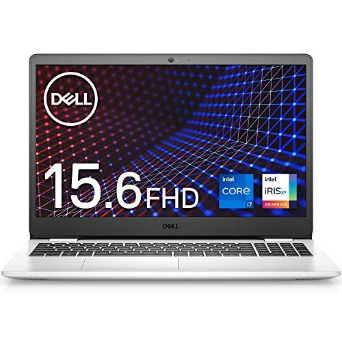 Dell ノートパソコン Inspiron 15 3501 ホワイト Win10/15.6FHD/Core i7-1165G7/8GB/512GB/Webカメラ/無線LAN NI375A-AWLW