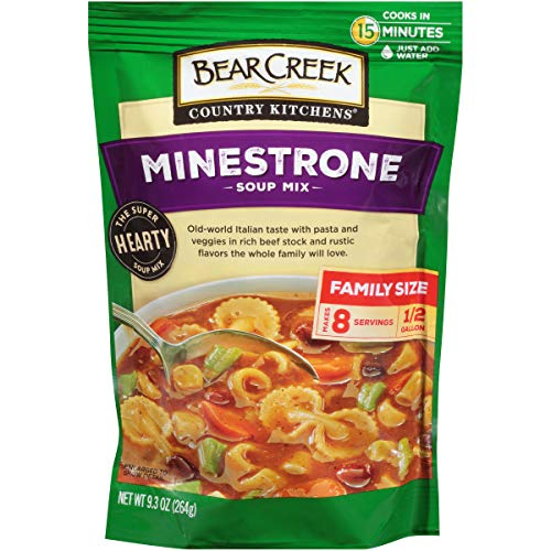 Bear Creek Soup Mix, Minestrone, 9.3 Ounce (Pack of 6)