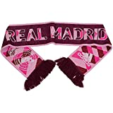 adidas Real 3RD Scarf - Bufanda Unisex, Color Rojo/Rosa/Blanco, Talla OSFM