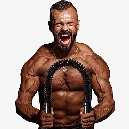 BOA Power Twister Chest Spring Fitness Twister, Chest Exerciser for Men Bicep Shoulder Arm PEC Sculptor Chest Muscle Builder (Medium, 100)