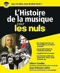 livre L'Histoire de la musique pour les Nuls
