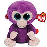 TY 37045 Grapes Monkey 37045-Grapes Buddy-AFFE mit Glitzeraugen, violett