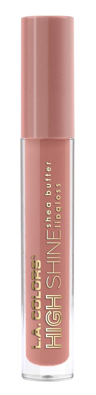 サーキットに行く退屈させる贅沢なL.A. COLORS High Shine Lipgloss - Sensual (並行輸入品)