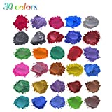 Shenye 30colors x5g Seife Metallic Color Set Farbpigment Pulver Glimmer...