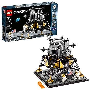 LEGO Creator Expert NASA Apollo 11 Lunar Lander 10266 Building Kit  1,087 Pieces