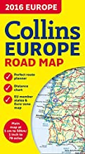 2016 Collins Map of Europe