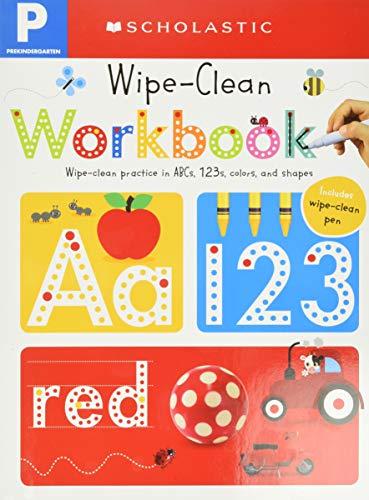 Wipe Clean Workbooks, Pre-Kindergarten: Included Wipe Clean Pen (Scholastic Early Learners)