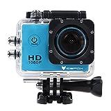 icefox FHD Unterwasser-Action-Kamera, 12MP, 1080P, wasserdichte HD-Kamera mit 170° Weitwinkel, 1,5...