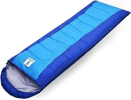 LE sac de couchage en Plein air Camping Adulte Voyage Hiver Pause déjeuner Chaud Coton intérieur Saisons Chaudes