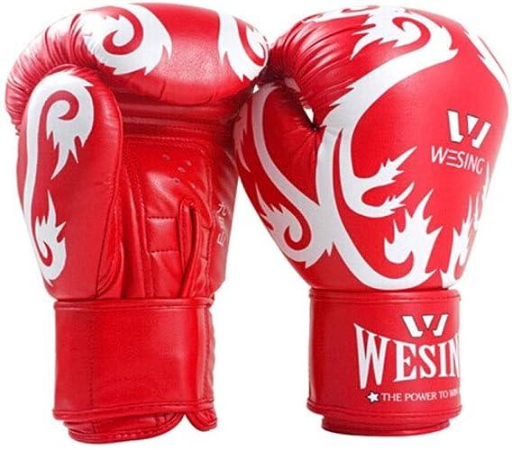 Kaiyitong01 Gants de Boxe pour Enfants, Gants Professionnels pour Enfants Taekwondo Sanda, Gants pour Sacs de Sable pour Jeunes, Haute qualité Haute qualité