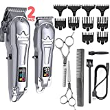 Ufree Hair Clippers for Men + T-Blade Trimmer...