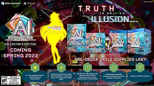 AI: THE SOMNIUM FILES – nirvanA Initiative (Collector's Edition) - PlayStation 4