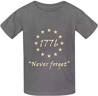 UdlJud Kids Summer 3D T Shirts Jacksonville Jumbo Shrimp Florida Flag Short Sleeve Tops Tees