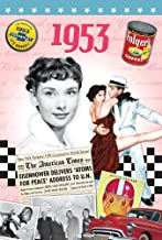 1953 Birthday Gifts - 1953 DVD Film and 1953 Greeting Card