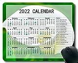 Gaming Mouse Pad 2022 año Calendario con Vacaciones,Calla Flor Bloom Soft Mouse Pads MP40