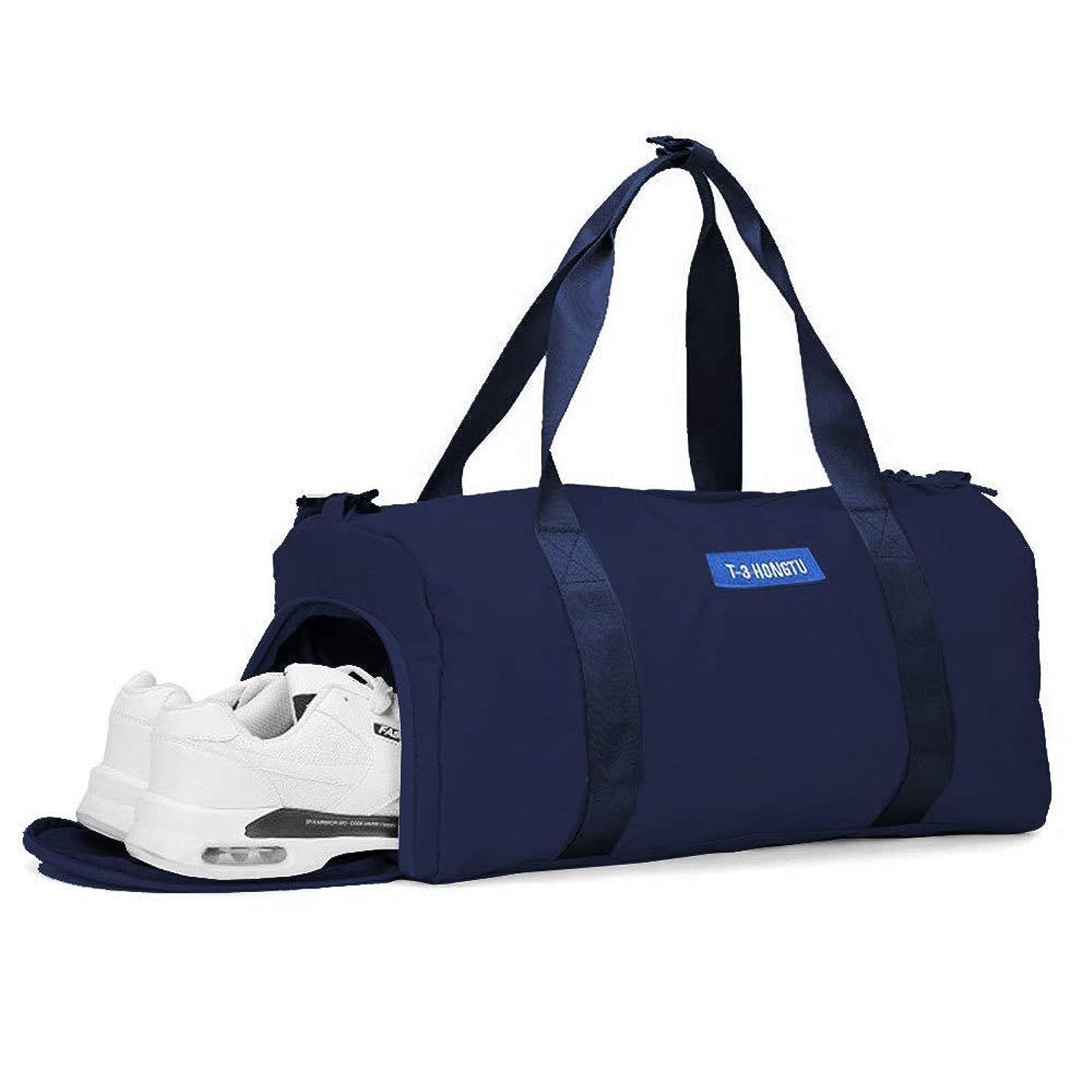 すぐに以前はクローゼット[Surmonter] スポーツバッグ シューズ収納 ジムバッグ 防水 Wet Pouch付