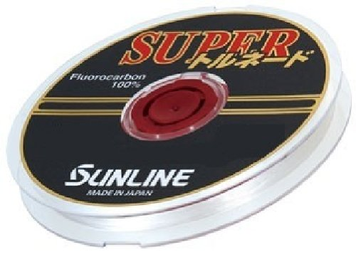 サンライン(SUNLINE) ハリス スーパートルネード HG フロロカーボン 50m 2号 ナチュラルクリア