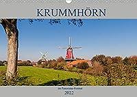 Krummhoern im Panorama-Format (Wandkalender 2022 DIN A3 quer): Beeindruckende Panorama-Aufnahmen aus Krummhoern in Ostfriesland (Monatskalender, 14 Seiten )