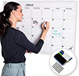 """Large Dry Erase Laminated Wall Calendar 24"""" Inch by 36"""" Inch Size by Earlyadopters 