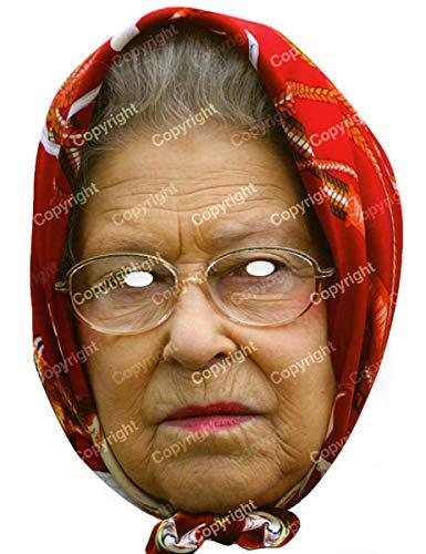 Queen Déguisement Elizabeth Mask (Masque)