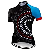 Women's Cycling Jersey Bike Short Sleeve Tops Quick Dry Bicycle Clothing for Sport